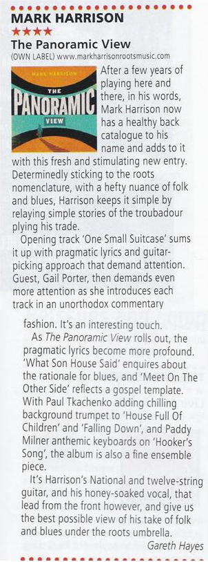ACOUSTIC MAGAZINE Review